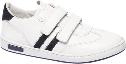 Agaxy Witte sneaker klittenband