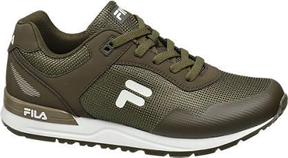 Fila Groene sneaker Fila logo