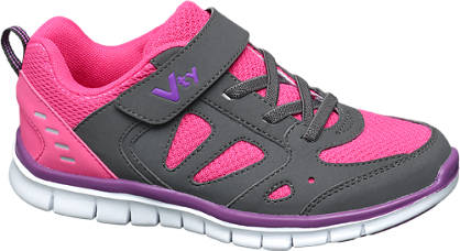 Vty VTY Junior Girls Strap Trainers