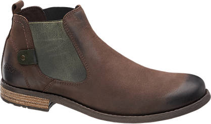 AM SHOE Chelsea Læderboots