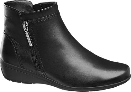 Medicus Leather Wedge Ankle Boot