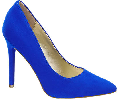 Star Collection Blauwe pump