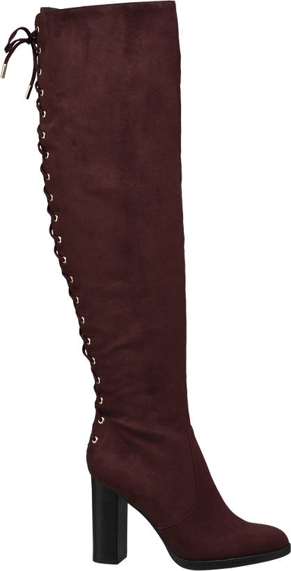 Catwalk Heeled Long Leg Boot