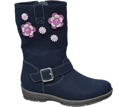 Cupcake Couture Blauwe laars sierbloemen
