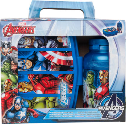 Marvel Avengers Avengers Lunchbox & Bottle Set
