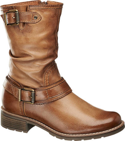 Landrover Leather Buckle Boot
