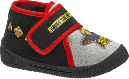 Zwarte brandweerman Sam pantoffel