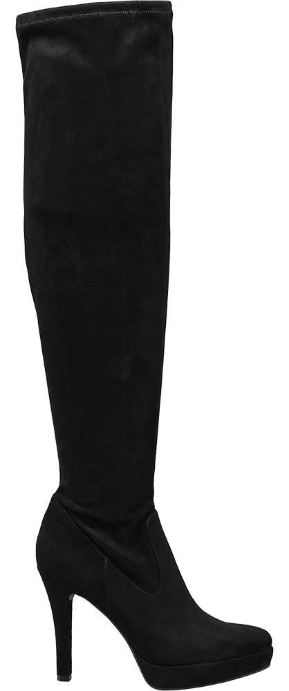 Catwalk Knee High Heeled Boot