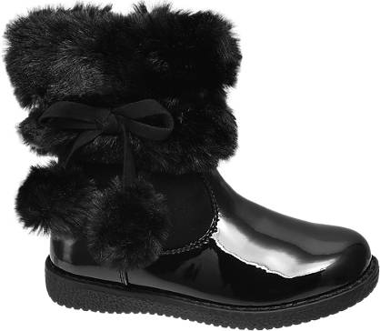 Cupcake Couture Toddler Girl Mid Calf PomPom Boots