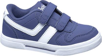 Bobbi-Shoes Blauwe sneaker klittenband