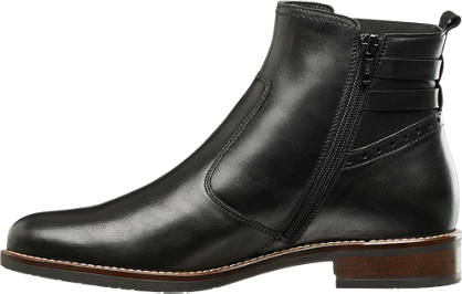 5th Avenue Leather Ankle Boot