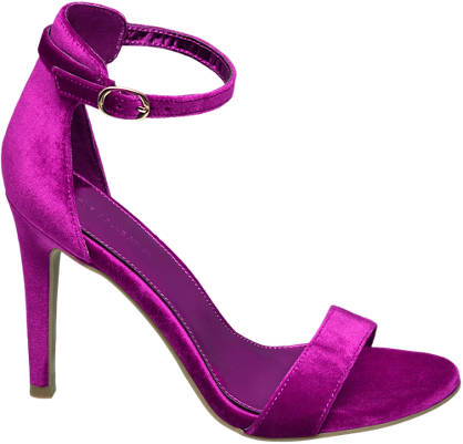 Star Collection Ankle Strap Heel