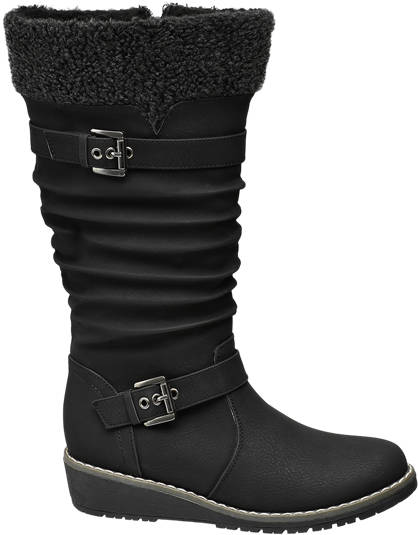 Graceland Teen Girl Long Leg Wedge Boots