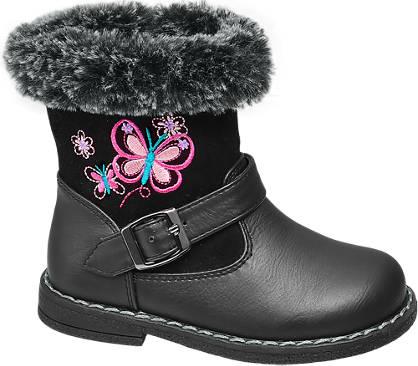 Cupcake Couture Toddler Girl Fur Trim Boots