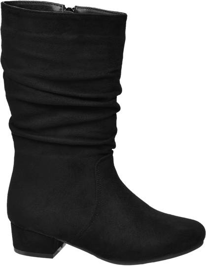 Graceland Junior Girl Rouched Leg Heeled Boots