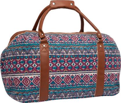 Patterned Overnight Bag