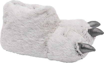Ladies Claw Slippers