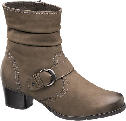 Medicus Stitch Detail Leather Boot