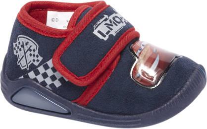 Cars Blauwe pantoffel klittenband