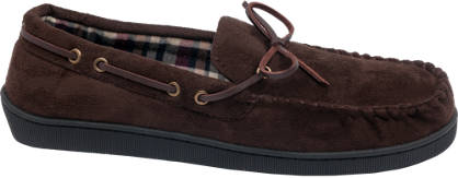 Mens Moccasin Slippers