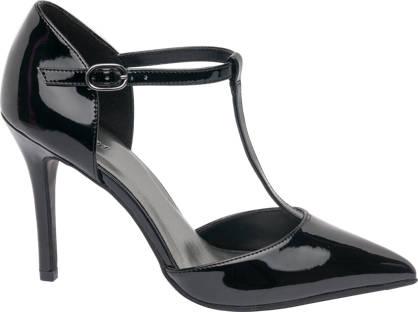 Graceland Patent Heeled Shoe