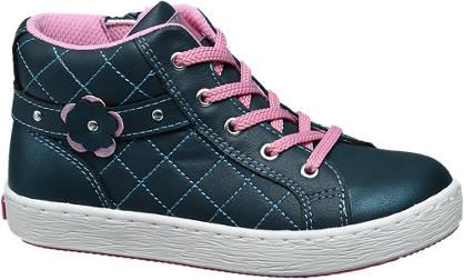 Cupcake Couture Blauwe halfhoge sneaker glitters