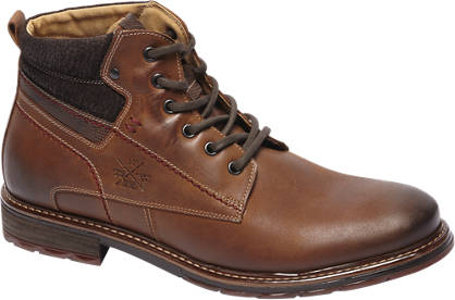 AM shoe Kastanje leren boot
