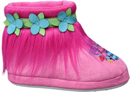 Girls Trolls Boot Slippers