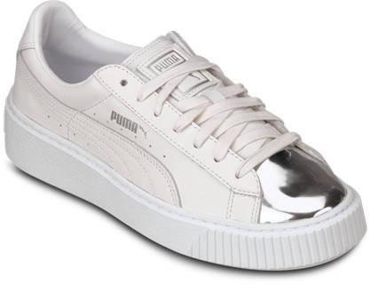 Puma Sneaker - BASKET PLATFORM METALLIC