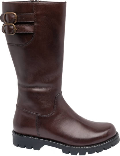 Graceland Junior Girl Leather High Leg Boots