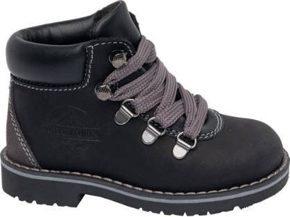 Bobbi-Shoes Toddler Boy Leather Lace-up Ankle Boots