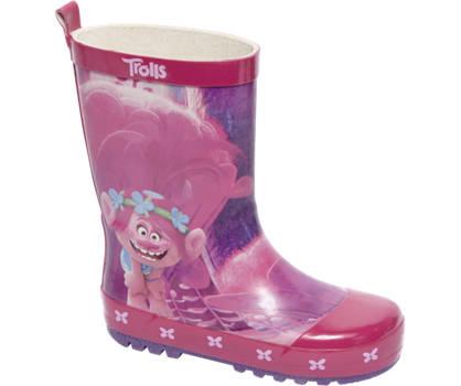 TROLLS Roze regenlaars