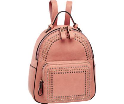 Graceland Roze rugzak studs
