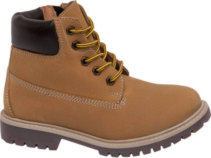 Memphis One Junior Boy Leather Lace-up Boots