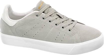 Skechers Grijze suède sneaker memory foam