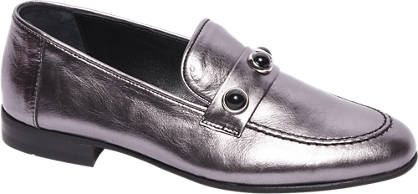 5th Avenue Lichtroze leren loafer