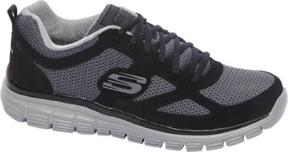 Skechers Zwarte lihjtweight sneaker memory foam