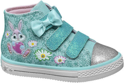 Cupcake Couture Turquoise sneaker klittenband