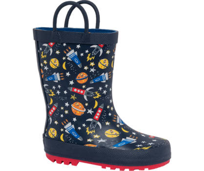 Toddlers Space Print Wellingtons