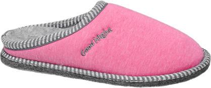 Casa mia Roze pantoffel good night