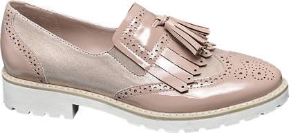 Graceland Roze broque instapper