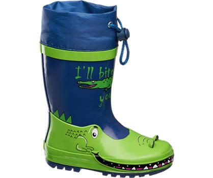 Cortina Blauwe krokodillen regenlaars