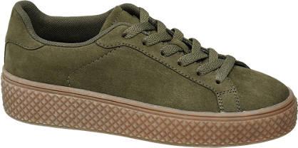 Graceland Kaki plateau sneaker