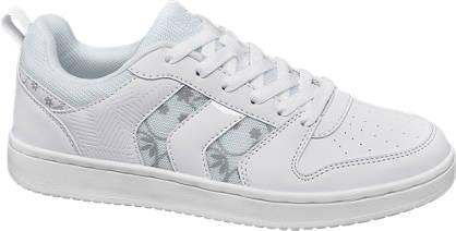 Graceland Witte sneaker bloemenprint