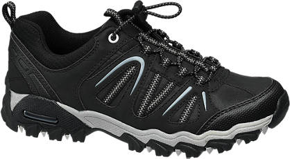 Landrover Zwarte sportieve sneaker