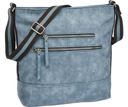 Graceland Blauwe schoudertas