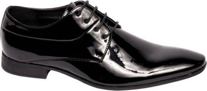 Venice Zwarte geklede lak schoenen