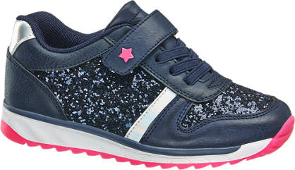 Cupcake Couture Donkerblauwe sneaker glitters