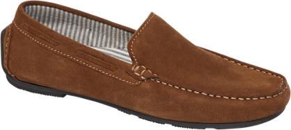 AM shoe Bruine suède loafer