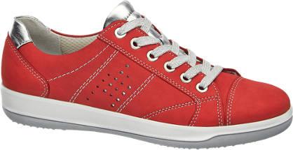 Medicus Rode leren sneaker